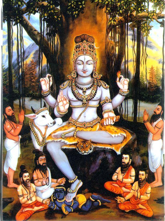 For those without Guru- Ḍattatreya as Guru. Sri Dakṣiṇamūrti